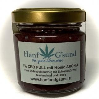 CBD FULL mit Honig Aronia 1% 100g